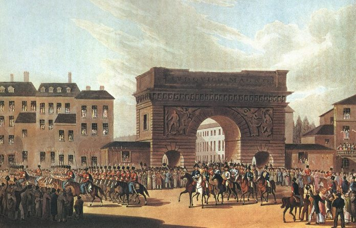 What celebrated victory in the Russian Empire