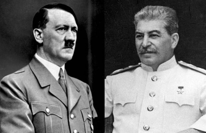 What Hitler wrote in his message to Stalin, happy birthday