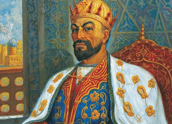 What saved Russia from destruction by Tamerlane