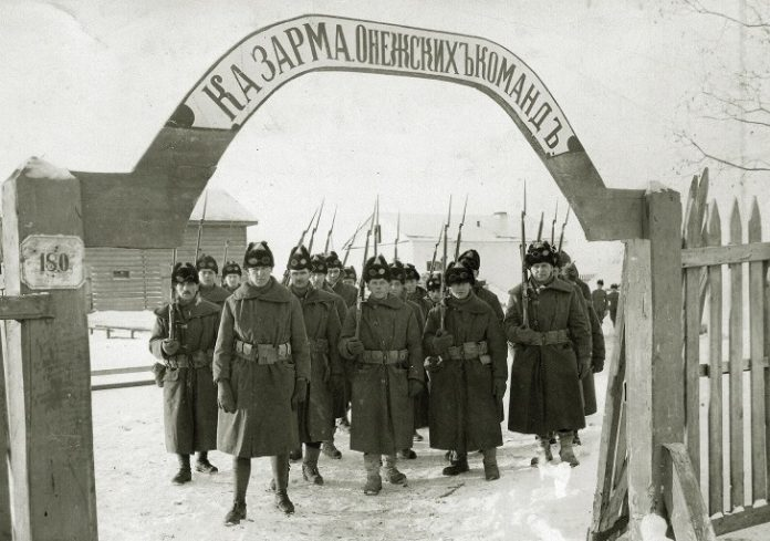 What territory, the allies tried to take Russia in the Civil war