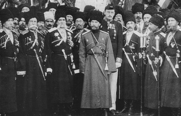 Why the security of Nicholas II was only the Cossacks