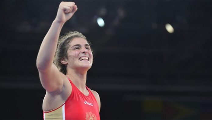 Wrestling. Gold Vorobyeva and another three medals to the Russians