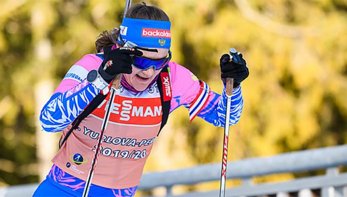 Yurlova-part the first among the Russians to start in the biathlon sprint