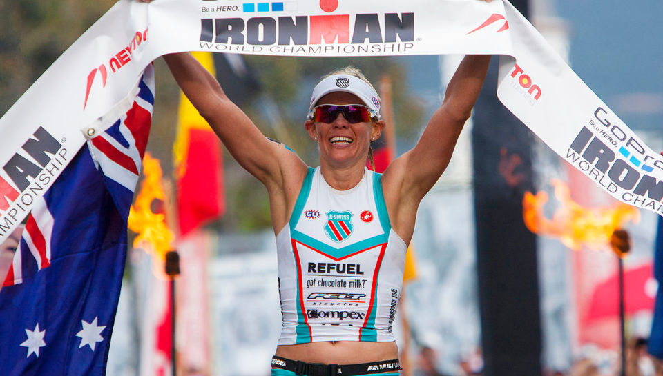 Ironman champion loses virtual race after husband trips over power cord