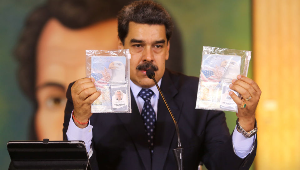 Venezuela's opposition leader paid United States company $213m to overthrow Maduro