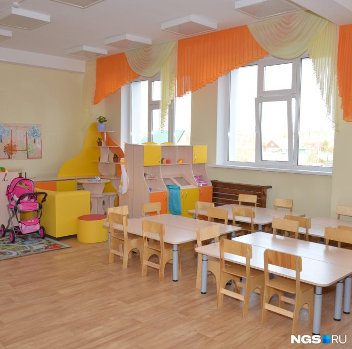 Authorities explained why the pervomayka, the new building of the kindergarten