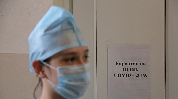 In Russia 8338 infected with a coronavirus. 161 people died