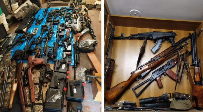 In the Telegram there is information about the underground workshop of arms and ammunition in the Novosibirsk region