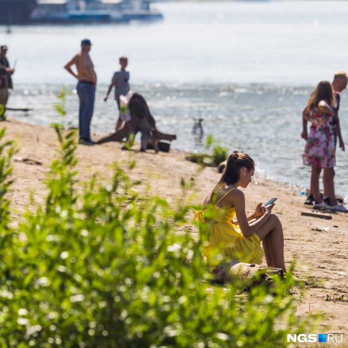 Left a bit: forecasters said, when from Novosibirsk will take a heat wave