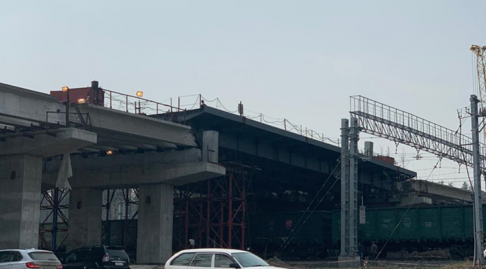 """""""Sibmost"""" completed the construction of the overpass on the Eastern bypass"""