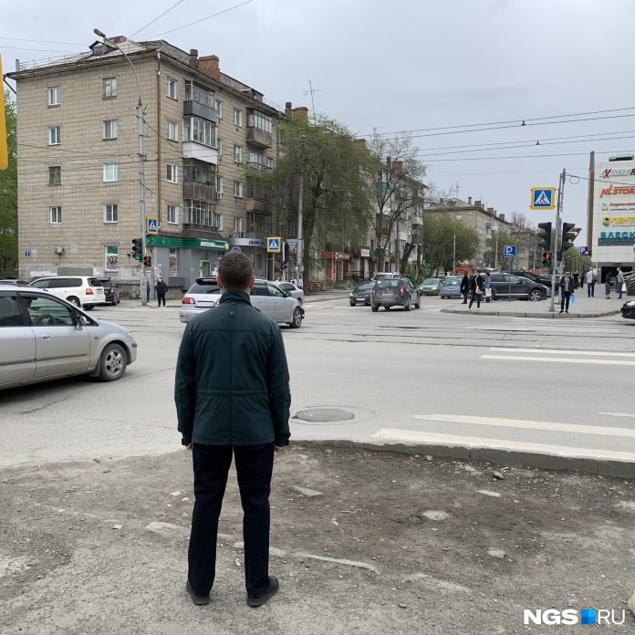 The intersection in Novosibirsk, where pedestrians are forced to throw under the car to red — study scheme