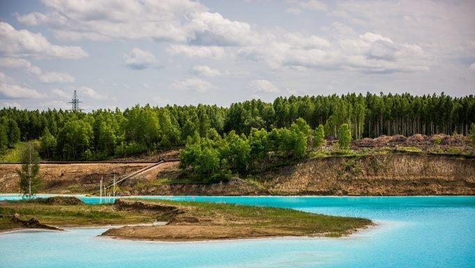 2000 visitors in two months: at the Novosibirsk does not abate interest to the local Maldives