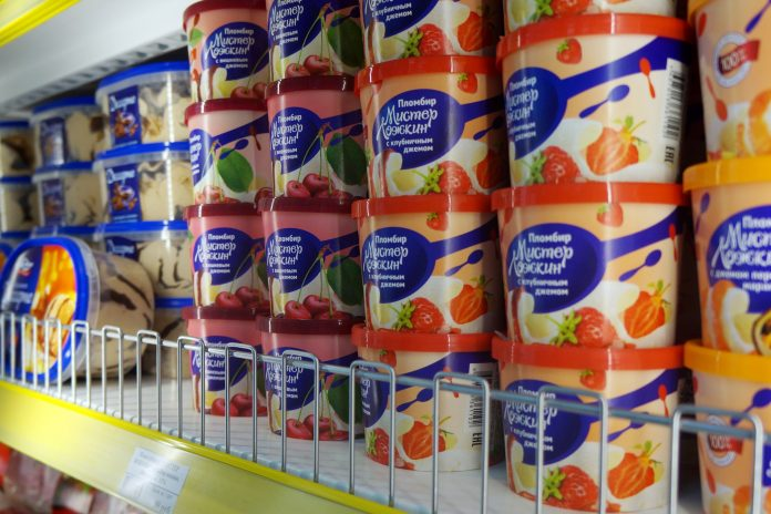 In Novosibirsk will open a new ice cream store: 3 days ice cream will be sold at a discount