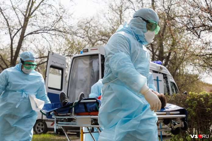 In Russia per day has 112 confirmed deaths from the coronavirus. Sick almost 9 thousand people