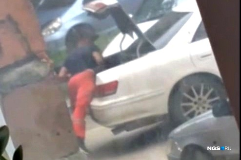Man beaten, stuffed in trunk and driven away in an unknown direction
