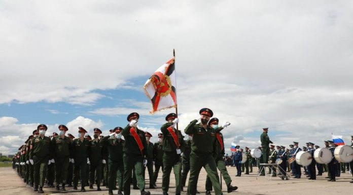 Men in masks: the military rehearsed in Tolmachevo the Victory parade — what you missed