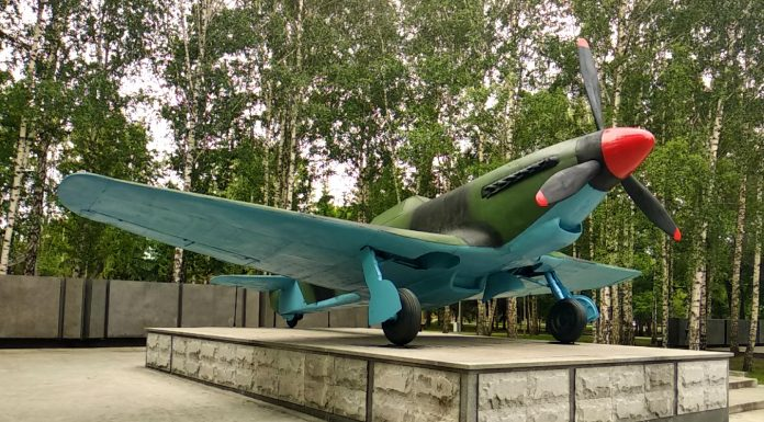 New bright colors: in the Park of Glory dokrutili war machine — compare the before and after photos