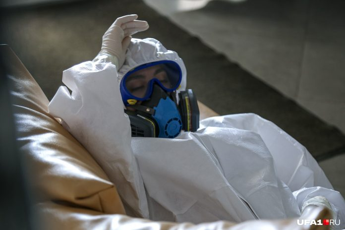 The day in Russia from the coronavirus died 169 people