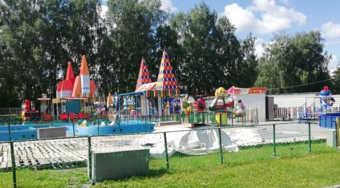 The first stage Zatulinskiy dispersed Park want to finish by September, is show what is happening there now