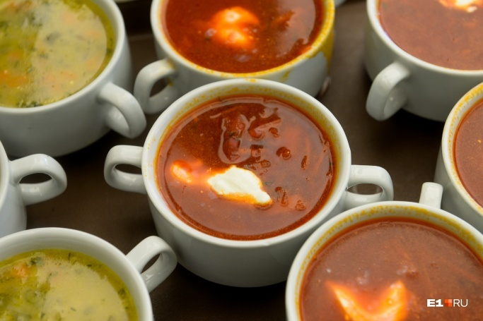 The nutritionist told him what the soup the most harmful
