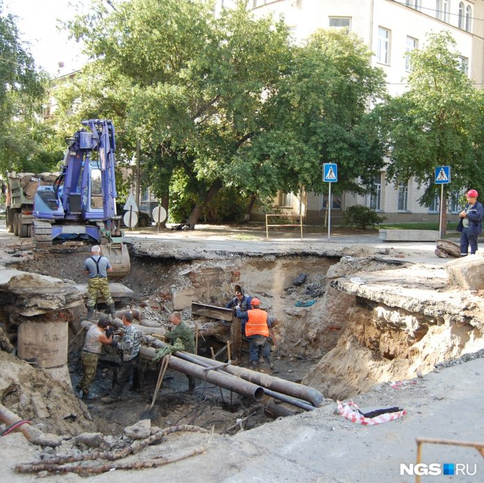 This week in Novosibirsk will start a new teplosbytovaya — published a list of streets where will disconnect hot water