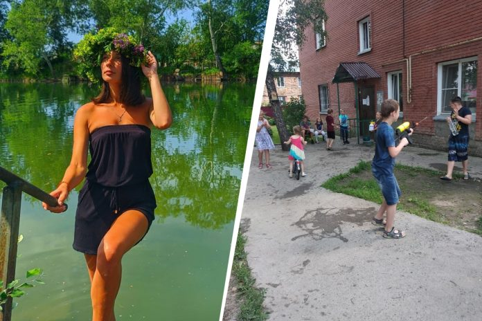 In Novosibirsk passed the Day of Ivan Kupala: children fired water pistols, beauty starred in wreaths