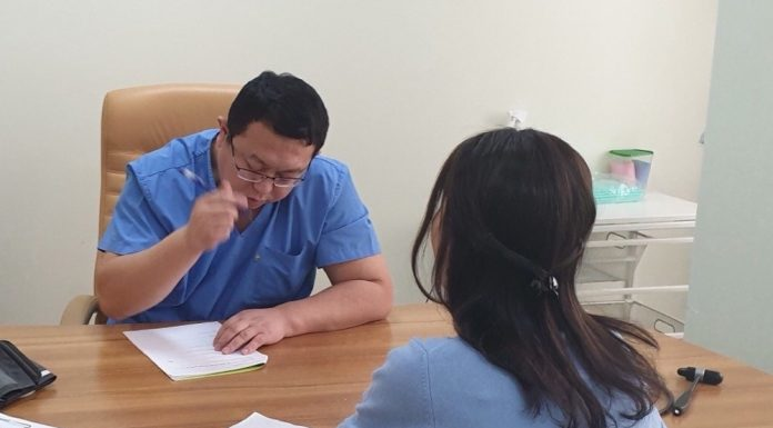 In Novosibirsk there are very few of these Chinese doctors