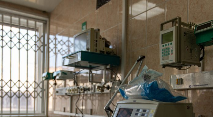 In the Novosibirsk hospital will deliver 171 ventilator — spring like rejected from-for fires