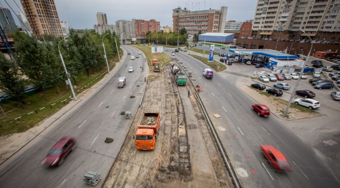 Ippodromskaya the street will narrow to two weeks for the construction of the motorway to the forth bridge