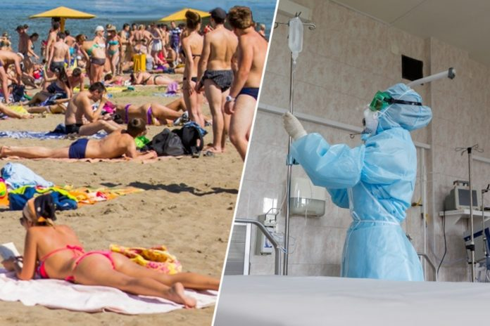 Is it possible to hook up a coronavirus on the beach and in the water, explains the doctor from Novosibirsk