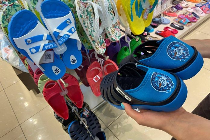 Novosibirsk Shoe company is beginning to sell