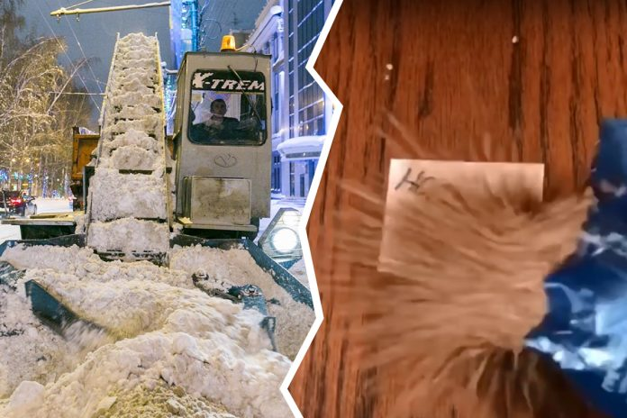 On social networks shatters very funny video about God, snow, buckwheat and Novosibirsk — show it