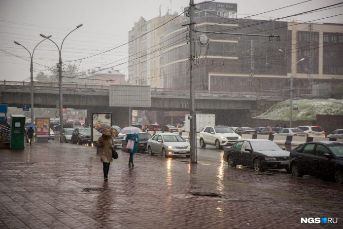 When in Novosibirsk will become warmer? Tell what the weather is after a storm of wind and snow