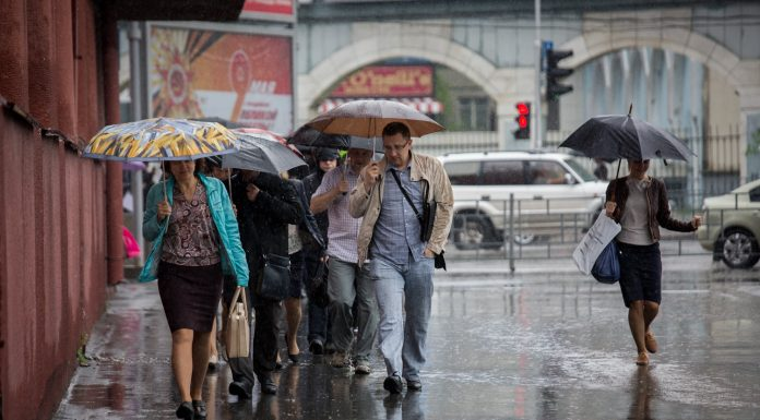 When in Novosibirsk will end the rain: the weather forecast for the weekend