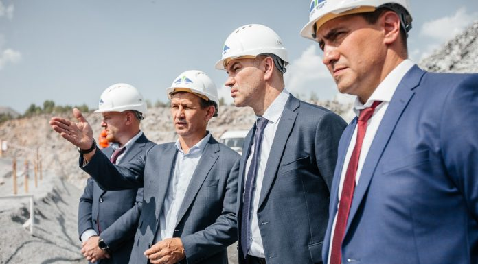 38 million tons of granite was mined in the quarry Borok
