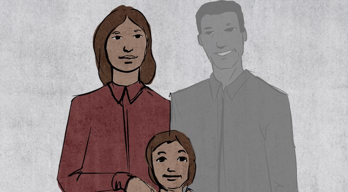 Back: Siberian accused her husband of molesting her daughter, and then changed his mind (he was imprisoned for 14 years)
