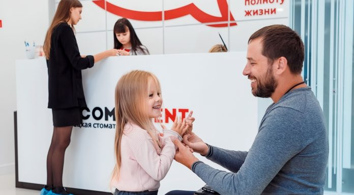 Beautiful smiles for the whole family — German dental will make a gift to parents and children