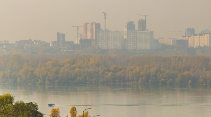 In Novosibirsk has increased the level of air pollution because of the fire at the dump in the area of the Hiloksky market
