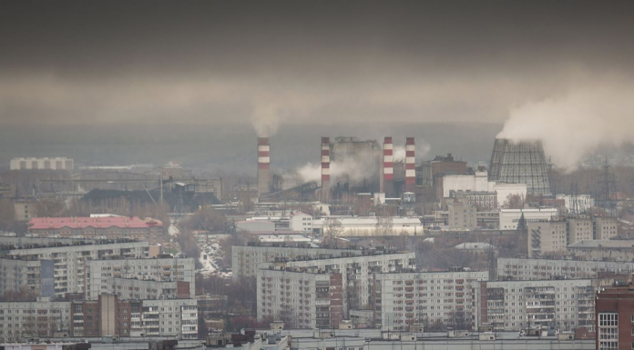 Meteorologists have recorded the excess hazardous gas with a pungent odor in several districts of Novosibirsk
