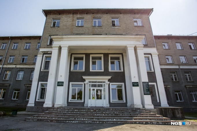 Suffering hospital building No. 34 in Novosibirsk decided to finish