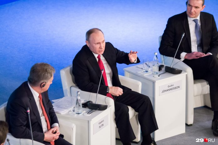 Vladimir Putin has reported about the incomes for last year