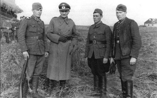 For the soldiers of the Wehrmacht did not like Russian traitors policemen