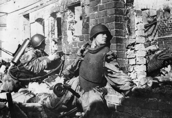 Steel breastplate: how the red army gave this