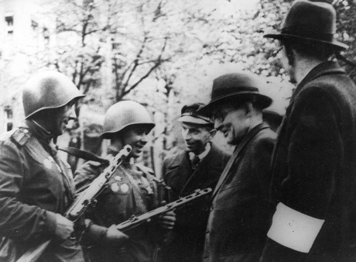Than the Soviet veterans surprised the Germans in the GDR