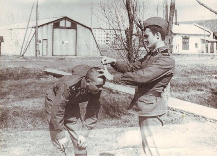 The strangest entertainment Dembele in the Soviet army
