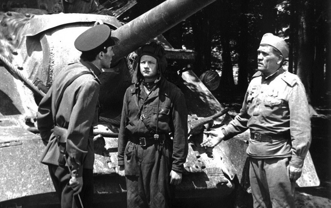 What is the only Soviet film most likely shot about the great Patriotic war