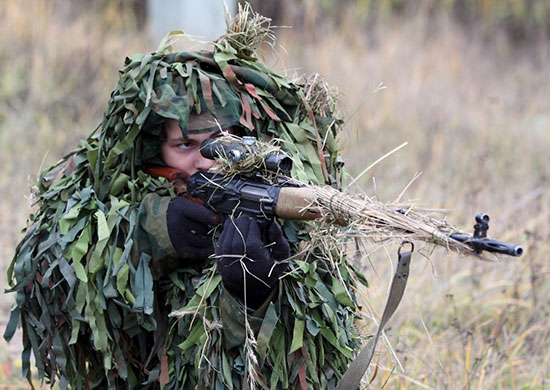 What Russian soldiers do not take into snipers