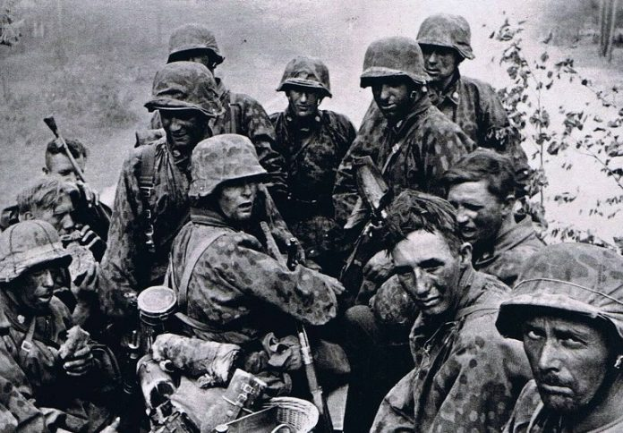 Why Russian special forces use camouflage uniforms of the Waffen SS