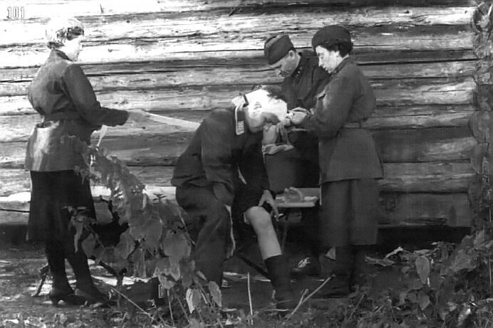 Why Soviet nurses rescued the wounded Germans
