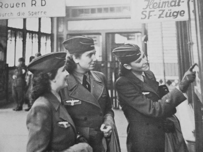 Why the German women were forbidden to serve in the Waffen SS